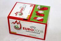 Panini EM EC Euro 2008 08 – 1 x Display Box Scatola Cajita ROT RED sealed/OVP