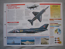 Aircraft of the World Card 29 , Group 5 - Yakovlev Yak-38 'Forger'