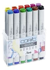 Copic Marker troppo. - 12 Colori Luminosi Set-Twin Tipped - 12 colori unici