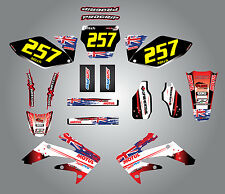 Full  Custom Graphic  Kit -AUSSIE PRIDE - HONDA CRF 250 - 2006 / 2009 stickers