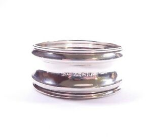 Antique Silver Napkin Ring 1919 HM Sterling  L&S 8.6g