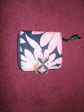 Vera Bradley LOVES ME Mini Zip WALLET Coin for Purse TOTE Backpack BAG EUC