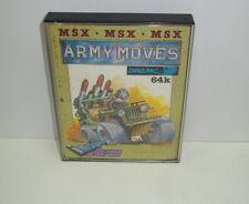 Msx cassette army moves