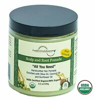 Scalp and Root Hair Growth Pomade for Shiny and Soft Hair & Healthy Scalp 8oz