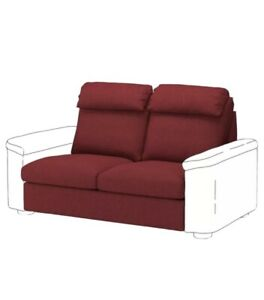 NEW! IKEA Lidhult Sofa COVER Lejdi Red-Brown Loveseat Sleeper Sealed 004.051.47