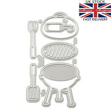 6 piece barbecue and tools die set metal cutting die cutter UK seller fast post