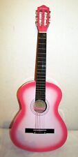 Akustische Gitarre 3/4 im hell/rosse Farbe