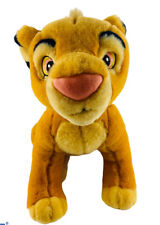 """Disney Store Exclusive YOUNG SIMBA PLUSH DOLL Disney The Lion King 14"""" Tall"""