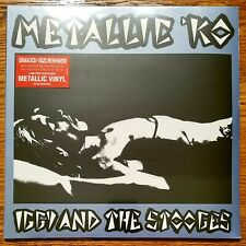 IGGY POP AND THE STOOGES METALLIC KO VINYL POSTER RSD 2016 Only 1500 Made