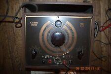 Rare Vintage Electrical Test Equipment Ac Bridge Analyzer Model Br 44 Nice