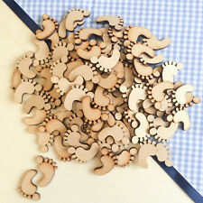 Wooden MDF Shapes Mobile Cot Bunting Craft Embellishments Baby Shower Decoration