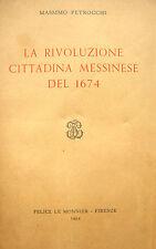 SICILIA MESSINA STORIA LOCALE SECOLO XVII°