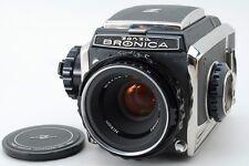 Near Mint  Zenza Bronica S2 Medium Format 6x6 75mm & Film Back from Japan #B001