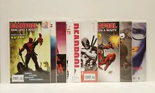 Deadpool Merc with a Mouth # 1, 2, 3, 4, 5, 7 Lady variant 11, 13 comic lot Set