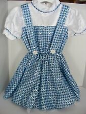 Girls Dorothy Costume  Sequin Dress Wizard Of Oz by Rubies SMALL 4-6 CHILD