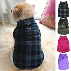 Small Pet Dog Warm Fleece Vest Sweater Clothes Coat Puppy Shirt Winter Apparel