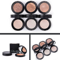 Shimmer Face Highlighter Bronzer Makeup Contour Palette Powder Glow Cosmetics