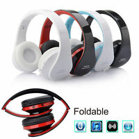 Wireless Bluetooth Headset Stereo Headphone Earphone for Cell Phone/Computer
