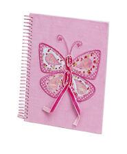25 x Lote Niñas Mariposa Rosa Ballet Regalo Notebooks Bolsa de fiesta nb-7362