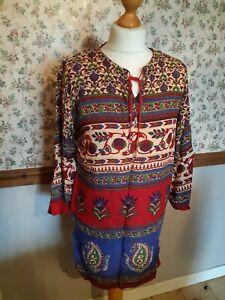 Indian tunic top Boho Style New Free size Lounge wear