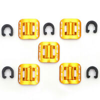 5pcs MTB Bicycle Bike Cycle C-Clips Buckle Hose Brake Gear Cable Housing Guide