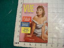 vintage HIGH GRADE magazine: PIN-UP--VUE-Zahra NorboJEAN CARMEN, SCARLETT REBEL