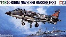 Tamiya 61026 1/48 Aircraft Model Kit British Royal Navy Hawker Sea Harrier FRS.1
