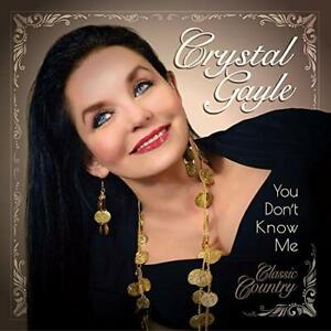 CRYSTAL GAYLE-YOU DON`T KNOW ME VINYL LP NEUF