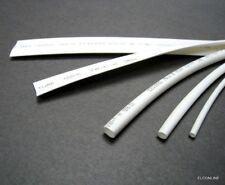 White Heat Shrinkable Tubing 2:1 Polyolefin Assortment 2.5-14mm Total 5M #gtc