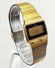 RARE,UNIQUE Men's Vintage 1980's DIGITAL Ultra Slim Watch SEIKO F231-4019