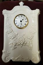 Lenox quartz clock made in Us battery operated size 13 × 6.5
