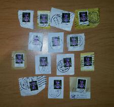 ### 14 x 1,45 € Briefmarken ### D ### Dauerserie Schwertlilie ### Rundstempel #