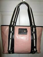 BALLY made in ITALY Light Pink NEW Leather Tote Bag Purse HTF GR8 Gift NWOT