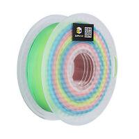 SUPPLY3D PLA plus 1.75 mm 3D Printer Filament in multicolor rainbow, 1kg Spool