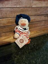 "Boyds Bears ""Monsieur Jodibear"" 6"" Artisan Plush Bear #92000-21 - NWT- Retired"