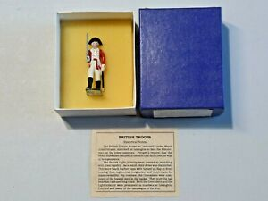 American Historical Model Col. Hand Painted Metal Figure British Officer