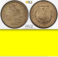 1921-S PCGS AU53 🔴 Off-Center Broadstruck ✅ LACKS EDGE REEDING Morgan Dollar $1
