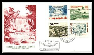 GP GOLDPATH: CARIBBEAN COUNTRY COVER 1957 AIR MAIL FIRST DAY COVER _CV733_P08