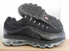 NIKE AIR MAX 24-7 (GS) BLACK-SILVER SZ 6Y-WOMENS SZ 7.5 [401257-006]