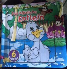 Das Hassliche Entlein (The ugly Duckling) German Puzzle Book for children