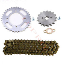 420 Chain 106 L + Front Rear Sprocket for 110cc 125cc 150cc Pit Dirt Bike ATV RM