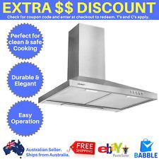 Devanti 600mm Rangehood Stainless Steel Range Hood Home Kitchen Canopy Silver