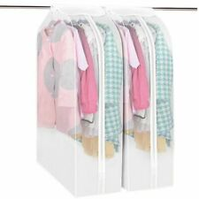 Hanging Clothes Cover Bag Dust Cover Closet Garment Dustproof Storage Organizer