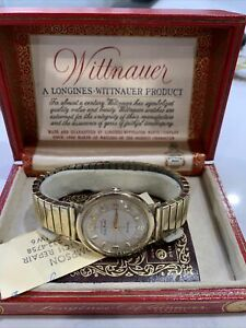 Vintage RARE Wittnauer Watch Gold Medal Automatic Watch In Original Box