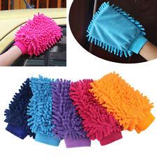 Scratch Super Microfiber Gloves Valeting Mitt Chenille Car Cleaning Wash Glove