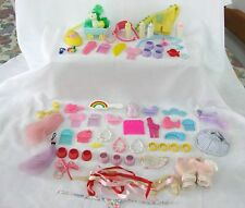 .....NICE  LOT OF VINTAGE MY LITTLE PONY ACCESSORIES.....