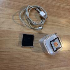 Boxed Genuine Apple iPod nano 6th Generation 16GB Silver USB Cable Audio Bundle