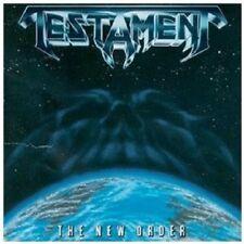 TESTAMENT - THE NEW ORDER CD HEAVY METAL 10 TRACKS NEU