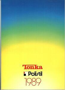 Polistil/Tonka Diecast Models Dealers Shop Catalogue 1989 very good condition