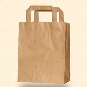 Papiertragetaschen Papiertüten braun Papier Tragetaschen Tüten Taschen Shopper